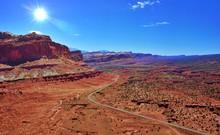 Utah Desert Scene Capital Reef National Park