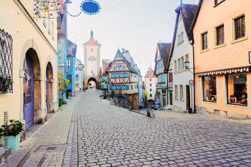 Fotomural  Rothenburg ob der Tauber, Germany