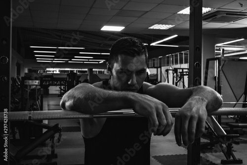 Fotografia, Obraz  Preparing for workout