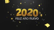 Feliz Año Nuevo 2020 En Letra...