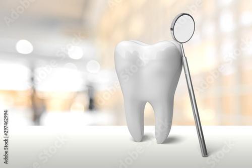 fototapeta na ścianę Dentist.