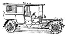 Six Cylinder Rolls Royce Pullm...