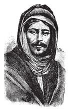 Bedouin, Vintage Illustration
