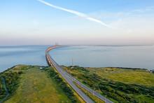 Sweden, Malmo. Oresund Bridge ...