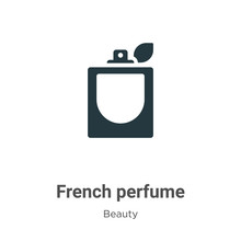 French Perfume Vector Icon On ...