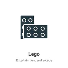 Lego Vector Icon On White Back...