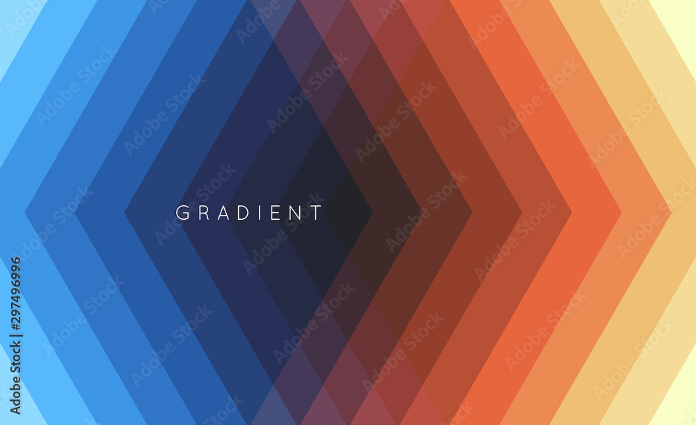Fototapety, obrazy: Geometric background with straight lines. Modern screen design for mobile app and web. 3d vector illustration for brochure, banner, flyer or presentation.