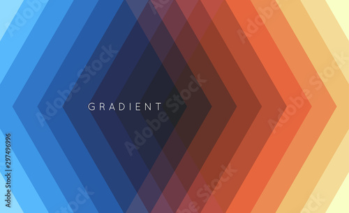 Fotografía  Geometric background with straight lines