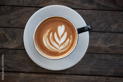 Wall Murals Cafe Cappuccino cup