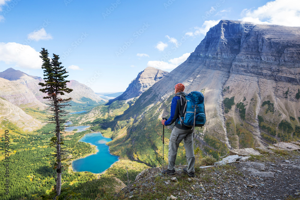 Fototapety, obrazy: Glacier Park