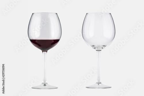 Mockup copas de vino Canvas Print