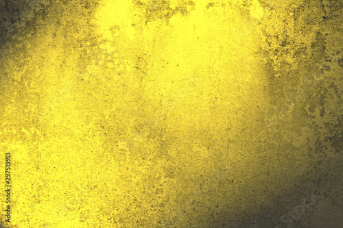 canvas print motiv - sirawut : Shiny gold wall texture,abstract background,golden pattern