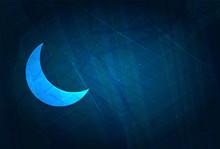 Crescent Half Moon Icon Futuri...
