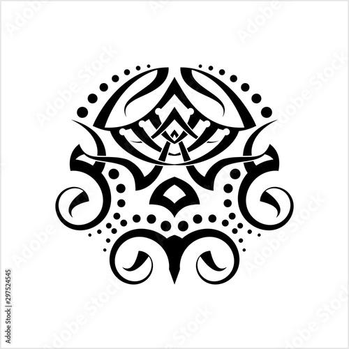 Obraz na plátně  Tribal Tattoo Design Creative