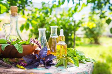 Oil for skin care, massage ...
