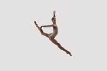 Modern Ballet Dancer. Contempo...