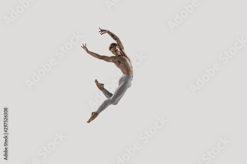 Obraz na plátně Modern ballet dancer