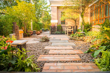 Decorative Garden, Walk Way Ar...