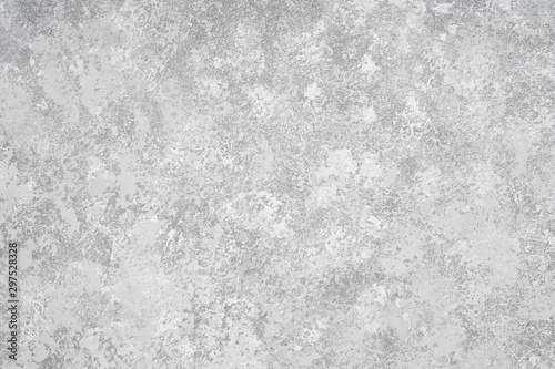Obraz sponge painted gray wall background with mottled paint texture pattern - fototapety do salonu