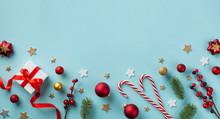 Gift Or Present Box And Holida...