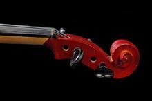 Tuning Pegs Violin Closeup, On...