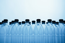 Empty Plastic Bottle Silhouett...