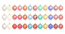 Multi-colored Christmas Balls....