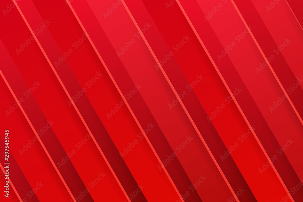 Fototapety, obrazy: Red gradient stripe background