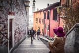 Fototapeta Uliczki - Path in the city