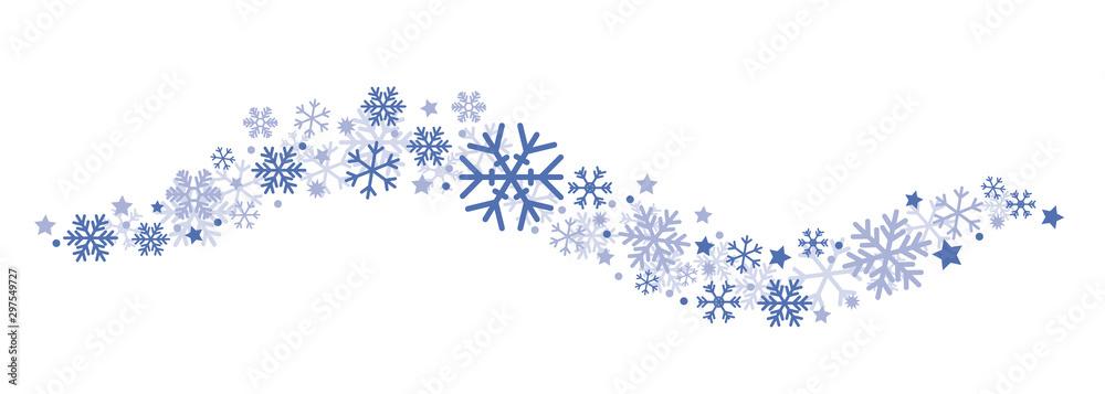 Fototapety, obrazy: Winter Banner Violet