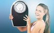 Dieting exercising women healthy eating weight scale scale people