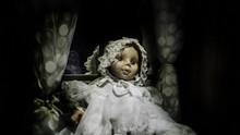 Horror Vintage Baby Girl Doll ...