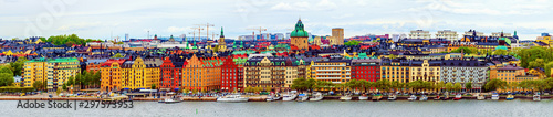 Stockholm city view Wallpaper Mural