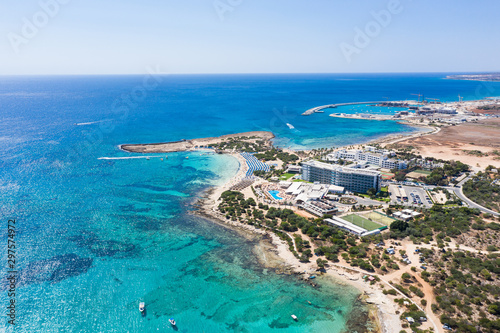 Photo sur Toile Cote The Makronissos beach in Cyprus