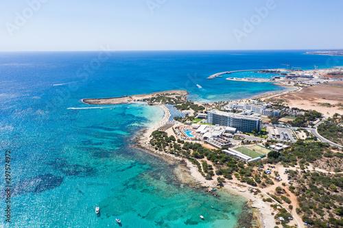 Cadres-photo bureau Cote The Makronissos beach in Cyprus