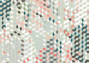 Vector, geometric abstract background texture design, bright poster with triangles and lines, spots, circles and shapes.