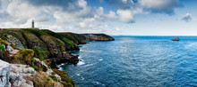 Panorama Coastal Landscape Wit...