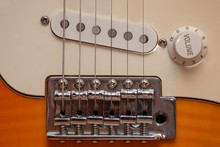 The Location Of The Strings Of The Electric Guitar Relative To The Pickup