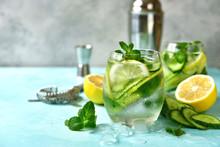 Cucumber And Lemon Refreshing ...
