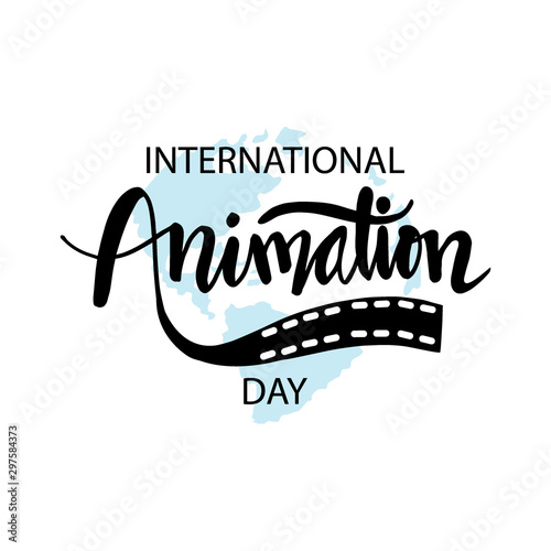 International Animation Day.  October 28 Canvas-taulu