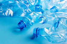 Empty Crumpled Plastic Bottles...
