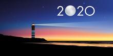 Carte De Voeux 2020 Avec Le Co...