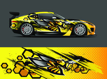 Car Wrap Design With Animal An...