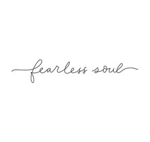 Fearless Soul Inspirational Le...