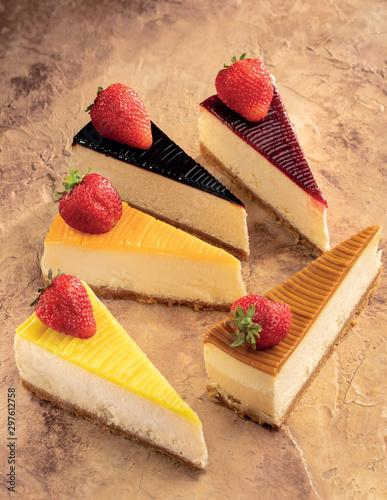cheescake fruit dessert, patisserie
