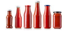 Barbecue Sauces In Glass