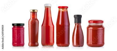 Fototapeta  barbecue sauces in glass obraz