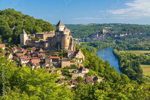 Chateau de Castelnaud, Castelnaud, Dordogne, Aquitaine, France Wallpaper Mural