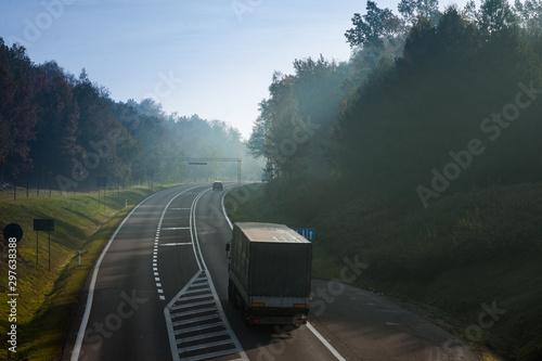 Photo Autostrada i samochody