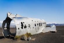 Abandoned Plane Wreck  On Solh...